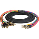 3G/HD-SDI Gepco VS16230 16-Channel DIN1.0/2.3 to BNC Female Video Adapter Snake Cable 3 Foot