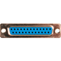 25-Pin D-Sub Connector Body Insert - Female