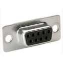 9 Pin D-Sub Connector Insert with Rear Solder Points - Female