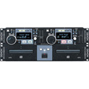 Denon DJ DN-D4500 Rack Mount Dual CD Player with MP3 Playback