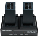 Dolgin TC200 Two-Position Battery Charger for Sony L / M Series Batteries