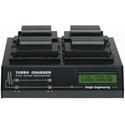 Dolgin TC400-DSLR-C Canon LP-E6 Battery Quad Turbo Charger for Canon EOS Rebel 5D Mark II / 7D / 60D DSLRs