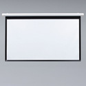Draper 132001 Salara Matte White 50x50 Motorized Wall Screen
