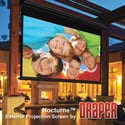 Draper 138013 Nocturne 16:9 HDTV Electric Projection Screen - 110 Inch - M White
