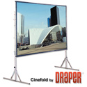 Draper 218031 Cinefold Surface Only 12 Ft. 6 Inch NTSC Flexible Matt White