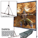 Draper 218108 Cinefold with Heavy Duty Legs 15ft  NTSC Cineflex