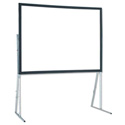 Draper 241074 Ultimate Folding Screen Complete with Standard Legs 10 Ft. NTSC Re