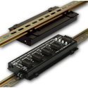 RDL DRA-35F Flat-Pak DIN Rail Adapter