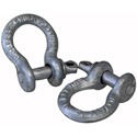 1/4 1/2 Ton Rated Screw Pin Shackle