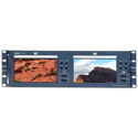 Datavideo TLM-702 Rackmountable Dual 7in x 2 TFT LCD Monitor