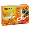 Sony DVM-60PR Chipless Mini-DV Tape 60 Minute
