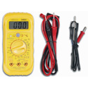 Velleman DVM501 3 1/2-Digit Digital Multimeter / 20 Range/10A/Sound Level/Light/Humidity/Temperature 5-In-1 Meter