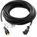 Pro Co E163-12 Black Electrical Extension Cord 16 Gauge 3-Conductor 12 Foot
