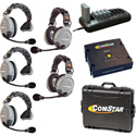 Eartec Comstar XT-5 Complete 5 Person System
