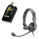 Eartec SLT24G4SS 4 Radios with Slimline Single Headsets
