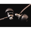 EarBombz A-Bombz A-Bombz - High Performance In-Ear Headphones - Black