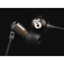 EarBombz HB Mic-DR H-Bombz HD Sound/In-Ear Headphones w/Mic - Black