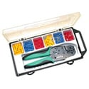 Solderless Terminal Kit with Crimp Tool