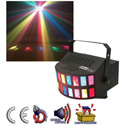 Eliminator E-108 Double Derby Sound Activated Multi-Dichroic Light FX
