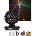 Eliminator E-112 Iosphere Centerpiece Special FX Colored MirrorBall FX