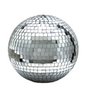 Eliminator Lighting 12 Inch Mirror Ball w/Hanging Ring