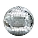 Eliminator Lighting 8 Inch Mirror Ball w/Hanging Ring