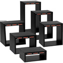 Raxxess ER Series Economy Racks - Black Oak