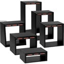 Chief ER-12 12 Space Economy Rack Black Oak
