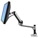 Ergotron LX 45-241-026 Desk Mount LCD Arm for Screens to 24-Inch - Silver