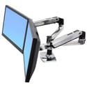 Ergotron 45-245-026 LX Dual Side-by-Side Arm