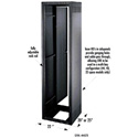 ERK Series Rack 27 Space 25 deep Less Rear Door