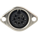 8-Pin Din Female Chassis Mount Connector