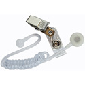 Telex Straight Eartube with Clip