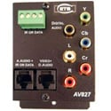 ETS AV-827 HDTV Over CAT5 Balun with Data and IR with Stereo Audio