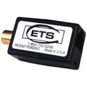 ETS PA807 Line Level Analog Stereo Audio Balun RCA Female to RJ45