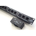 ETS PA830 AES/EBU 110 Ohm Digital Audio Splitter XLRF to 2 XLRM