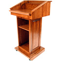 Executive Wood Counselor Lectern
