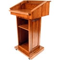 Executive Wood Counselor Lectern - Cherry Wood