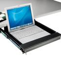 Locking Laptop Security Drawer For Under Desk Mount 75mm H x 338mm L x 450mm W