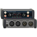 RDL EZ-AFC2 Stereo Balanced to Unbalanced Audio Format Converter