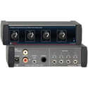 RDL EZ-HDA4B 1x4 Stereo Headphone Distribution Amp Rear-Panel Outputs