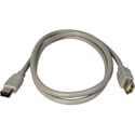 Firewire Extension 6 Pin M-F 1 Meter