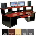 Omnirax Force 40 Audio Video Workstation (Mahogany Formica)