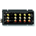 RDL FP-AVDA4 Stereo Audio/Video Distribution Amp - 1x4 - RCA Jacks