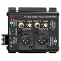 RDL FP-UBC2 Unbalanced to Balanced Converter - 2 Channel