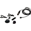 MilliMic Omni Lav Mic Kit w/TA5F Connector for Lectrosonics Transmitters