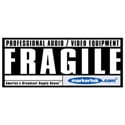 Markertek ATA and Flight Case Fragile Sticker
