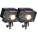 Frezzi HLK-2A HyLight Dual Head High Intensity LED Light Kit for Anton Bauer