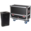 Gator G-TOUR-2X-K08 Tour style transport case for 2 QSC K8 speakers