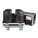 Gator G-TOUR-2X-K12 Tour style transport case for 2 QSC K12 speakers